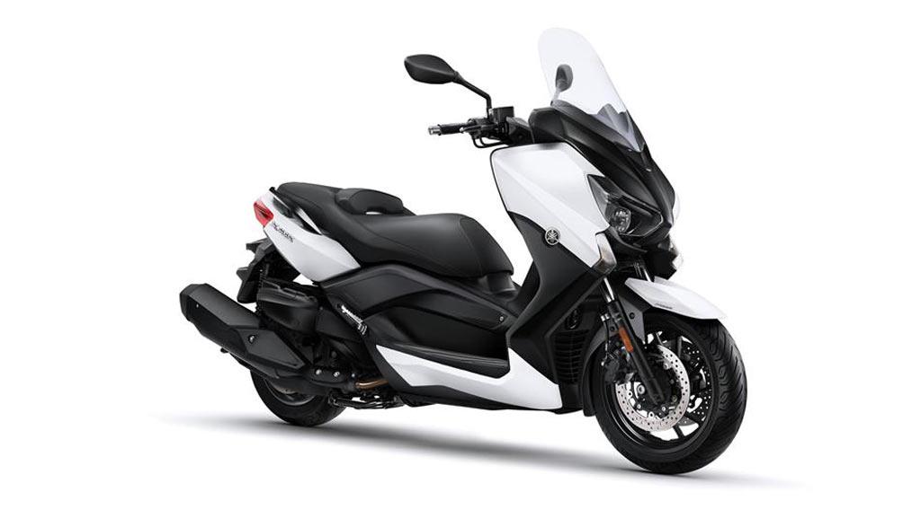 YAMAHA X-MAX 400 ABS zwart wit