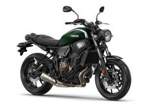 Yamaha-XSR-700-groen