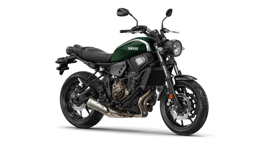 Yamaha XSR 700 groen