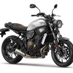 Yamaha XSR 700 zilver