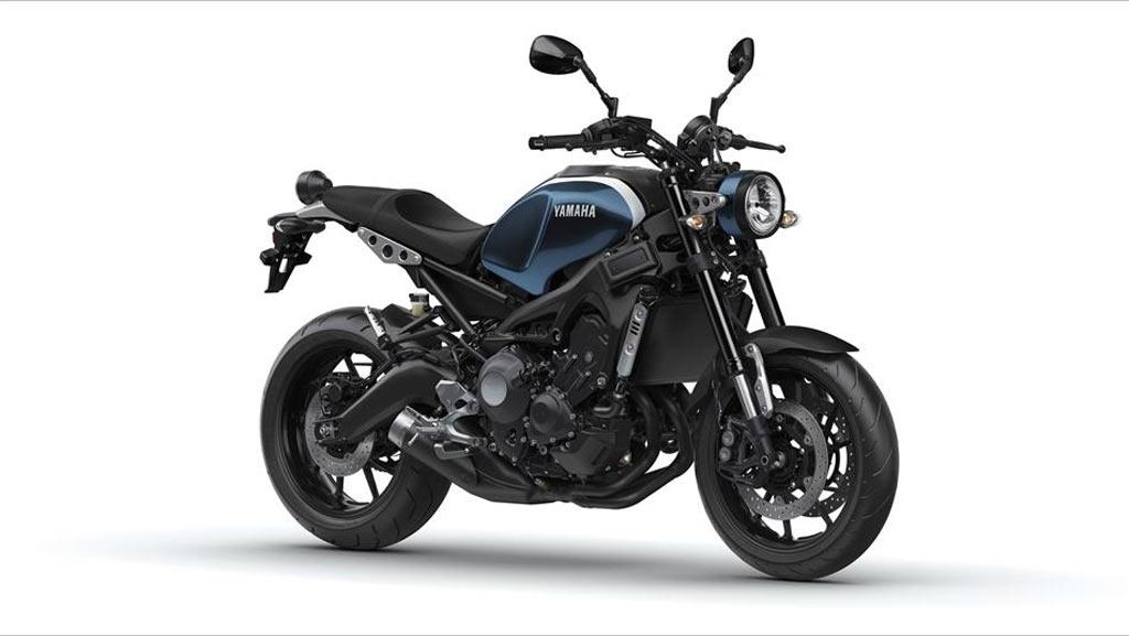 Yamaha XSR 900 blauw