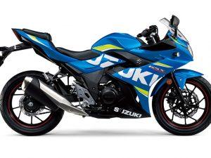 Suzuki GSX 250 RA blauw