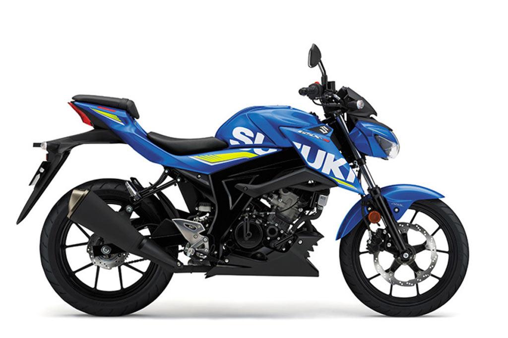 Suzuki GSX S125A blauw