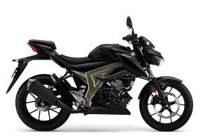 Suzuki GSX S125A zwart