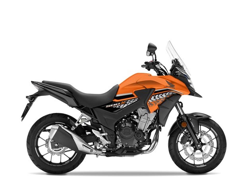 HONDA CB 500 X oranje