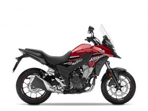 HONDA CB 500X rood