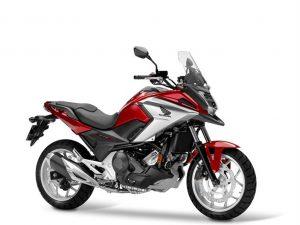 HONDA NC 750 X rood