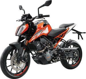 KTM 125 DUKE oranje