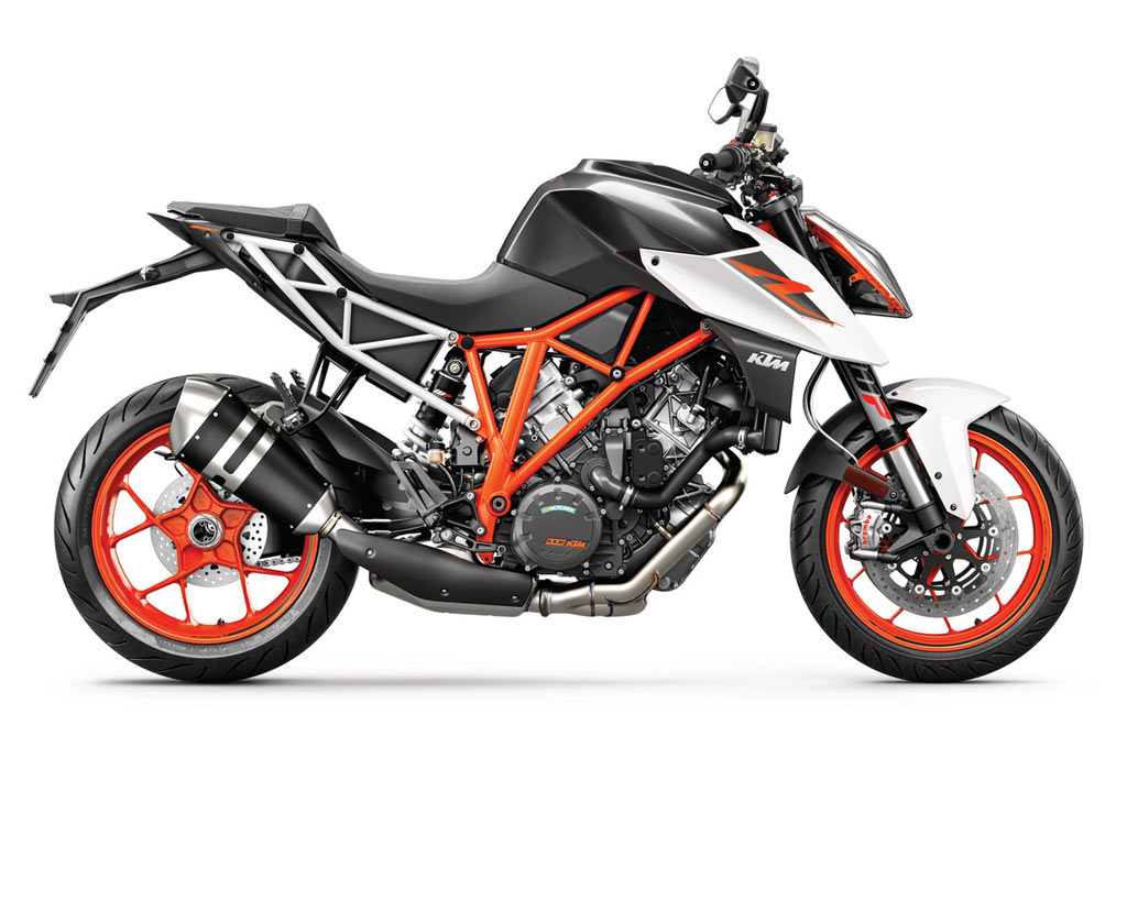 KTM 1290 SUPER DUKE R ZWART WIT