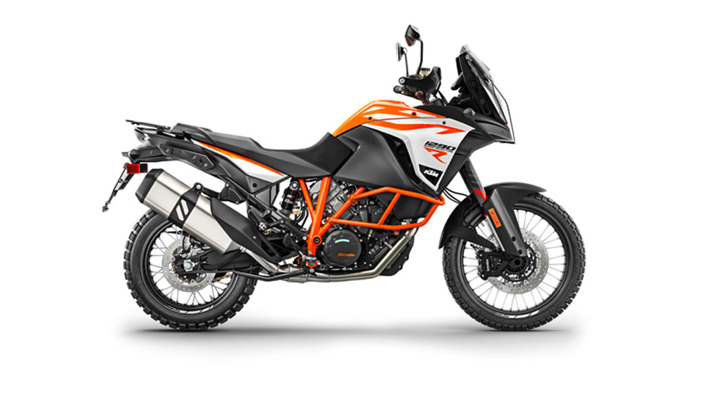 KTM 1290 Super adventure R wit