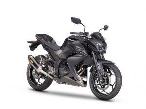 Kawasaki-Z300-mat-zwart