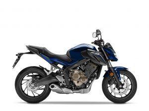 HONDA CB650F blauw