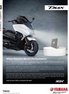 Yamaha TMAX Audio Systeem