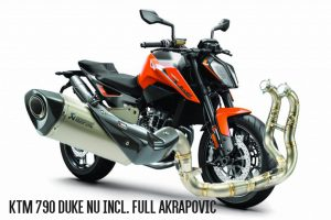 2019 790 Duke incl full Akra