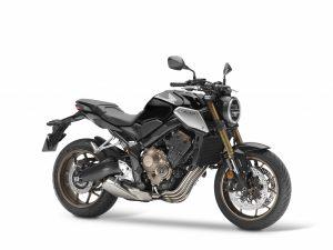 2019 CB 650 R zwart