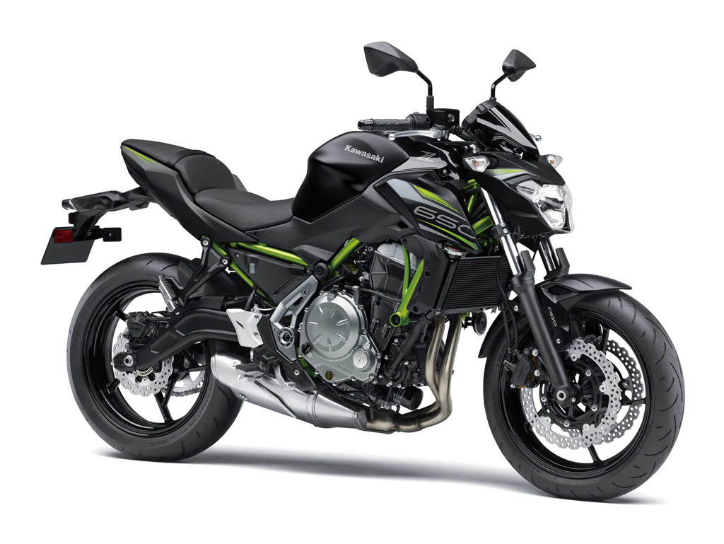Kawasaki Z650 zwart