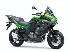 2020 Kawasaki Versys 1000 tourer zwart groen