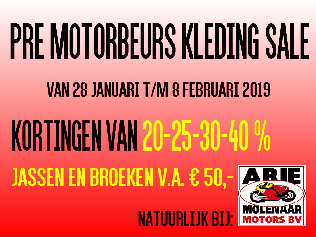 2020 Pre Motorbeurs Sale