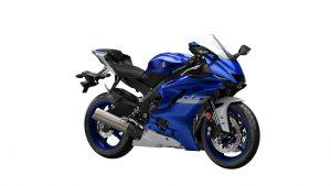 2020 YZF R6 blauw