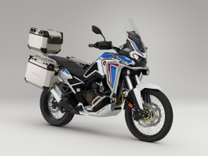 2021 Africa Twin tricolore met koffers