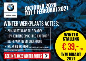 BMW winterstalling 2020