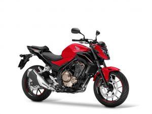 HONDA CB 500F rood