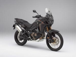Honda Africa Twin mat zwart