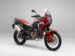 Honda Africa Twin rood wit