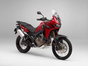 Honda Africa Twin rood zwart