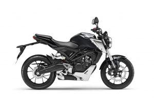 Honda CB 125R zwart