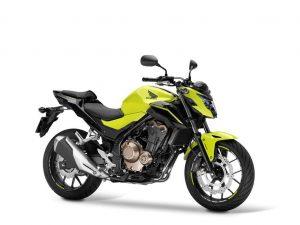 Honda CB 550 F geel