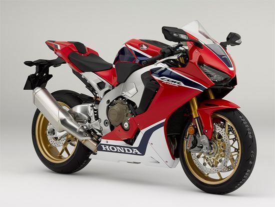 Honda CBR 1000 Fireblade SP rood
