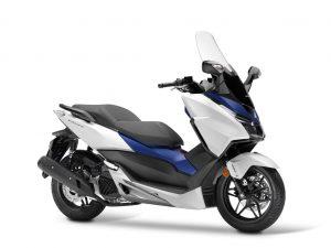 Honda Forza 125 wit