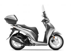 Honda SH125i zilver