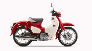 Honda Super Cub rood