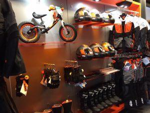 KTM shop verbouwing