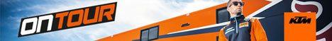 KTM on tour banner