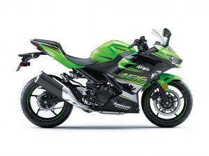 Kawasaki Ninja 400 groen