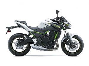 Kawasaki Z650 wit