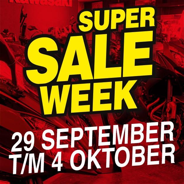 Nieuwsbrief Super Sale Week afbeelding