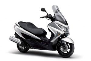 Suzuki Burgman 200 A zilver