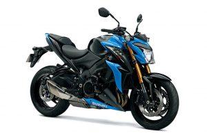 Suzuki GSX S 1000 (Z)A zwart blauw