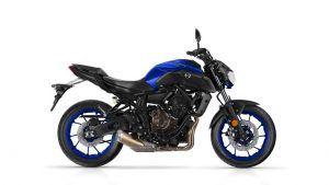 Yamaha MT blauw