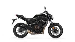 Yamaha MT zwart