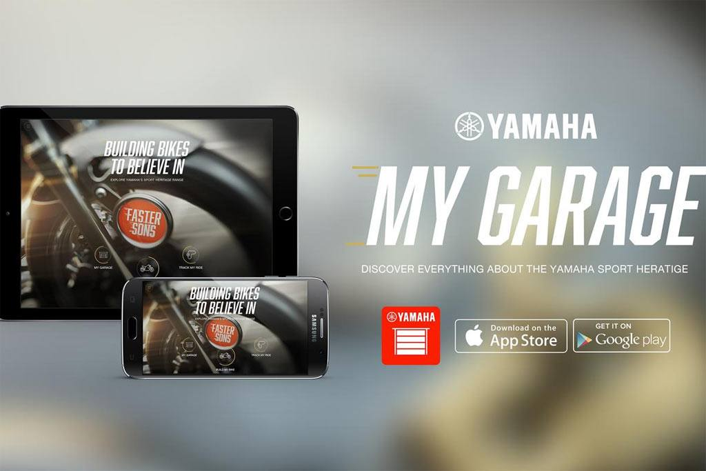 Yamaha My Garage app 2018