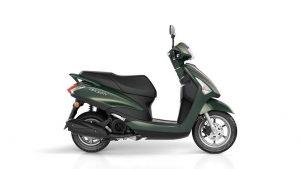 Yamaha d'elight 125 groen