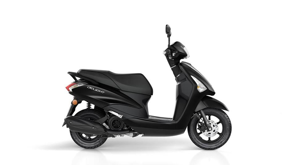 Yamaha d'elight 125 matzwart