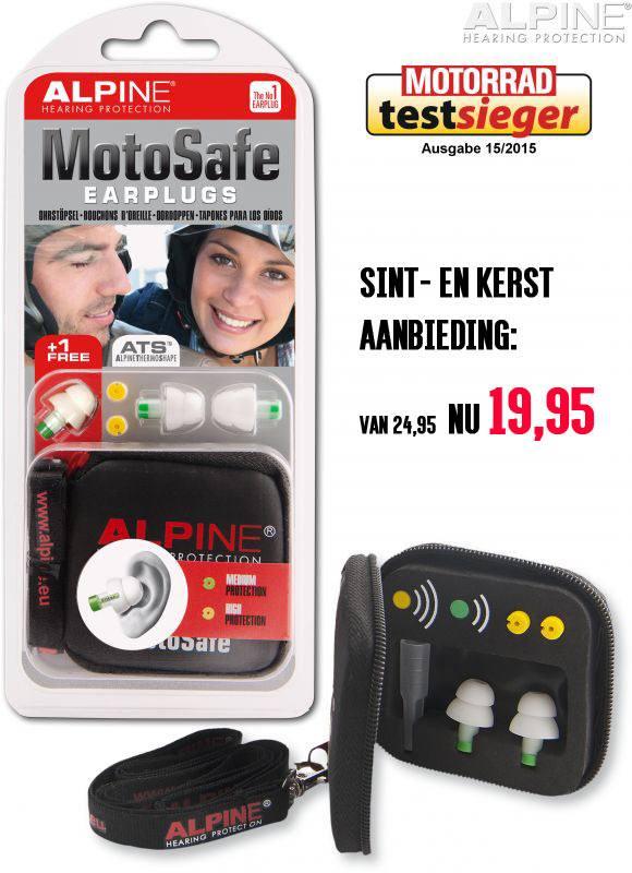 Alpine MotorSafe Oordoppen