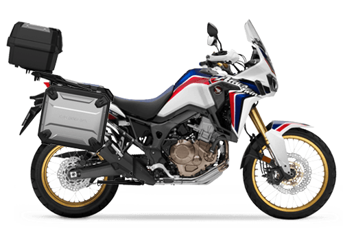 Honda Africa twin gratis travel pack