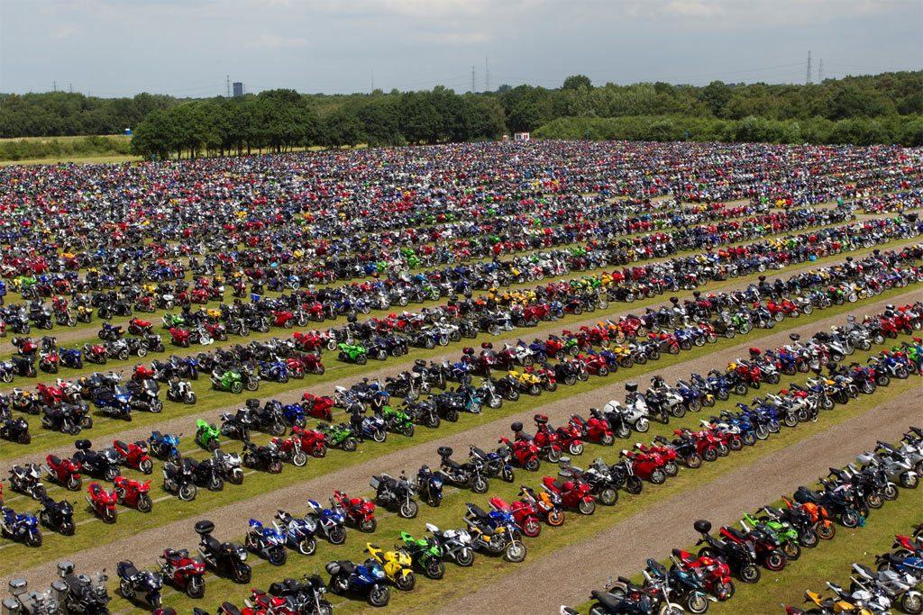 record aantal motoren in Nederland